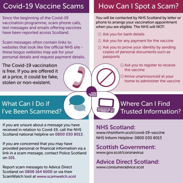 Trading standards vaccine