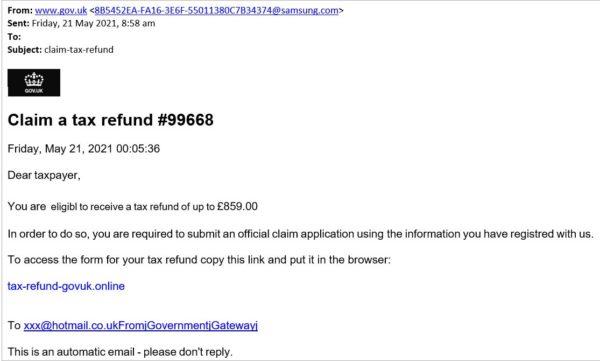 HMRC scam3